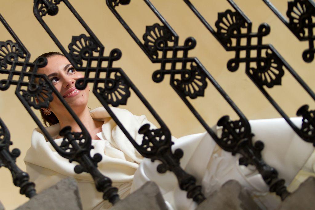KL-Photo - Fotografiranje vjencanja: Tina i Sinisa su fotografiranje za svoje vjencanje odlucili napraviti na ulicama Zagreba, cermonija vjencanja je bila u crkvi Sv. Blaza a svadba u restoranu Matis