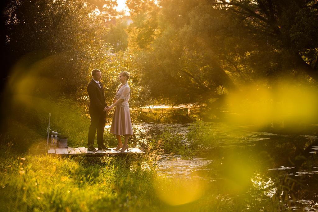 KL-Photo - Fotografiranje vjencanja: Martina i Damir su fotografiranje za svoje vjencanje zeljeli uslikati na ulicama Sunje i okolice